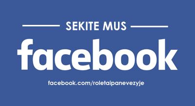Roletai žaliuzės Panevėžyje sekite mus facebooke